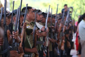 Police prepare for an assault on cartel in Guerrero.