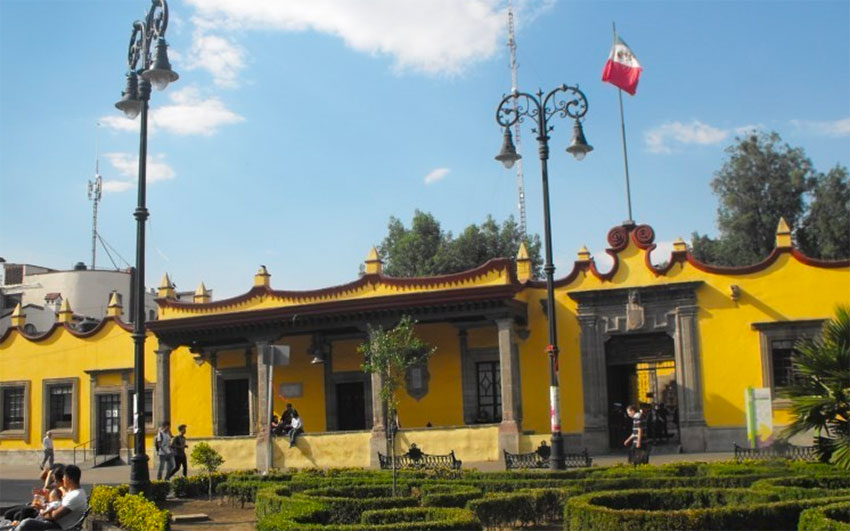 Casa de Cortés, a historic site in Coyoacán.