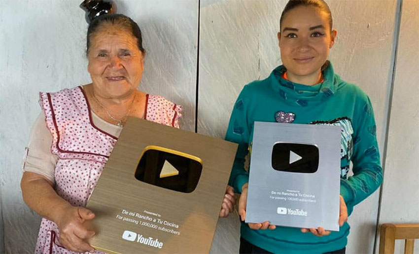 Youtuber Dona Angela 69 Awarded Gold Play Button