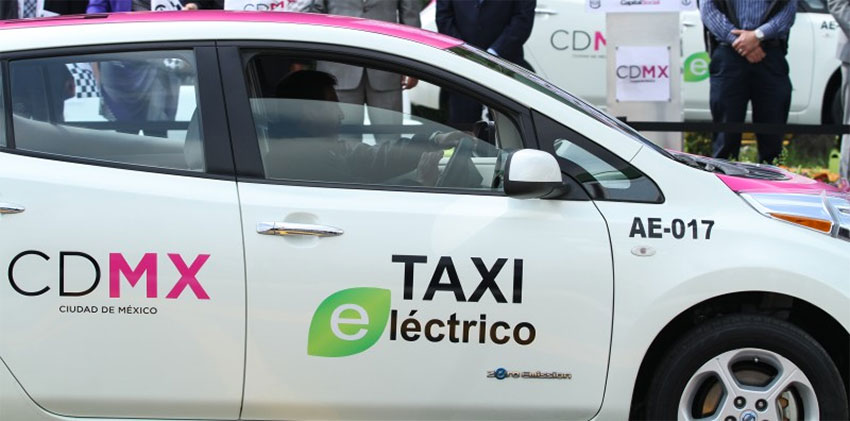 Mexico City leads the states in electric vehicle sales.