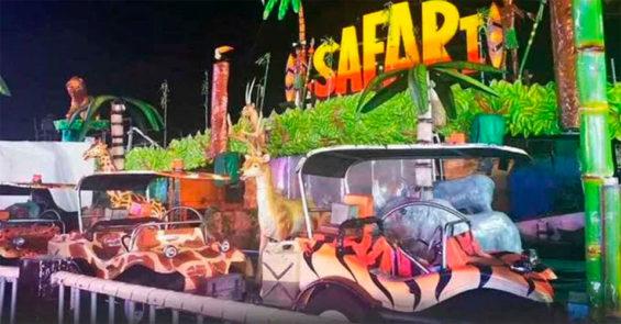 The Hidalgo fair ride where a girl was electrocuted.