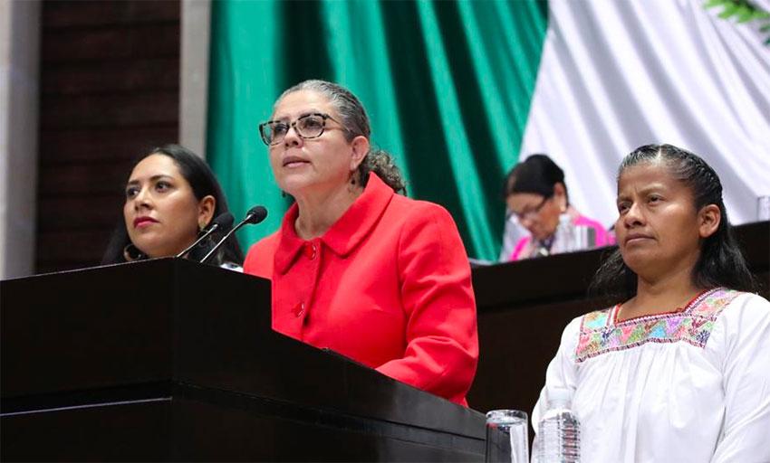 Deputy Carrillo: step toward an ethical presidency.