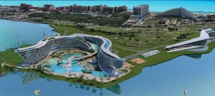 The proposed mega-hotel has its critics.