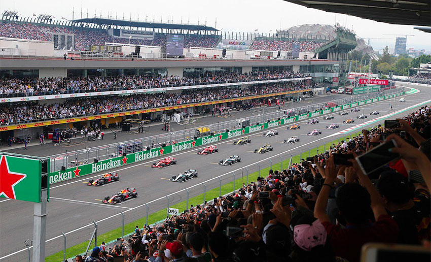The Mexican Grand Prix, an award-winning event.
