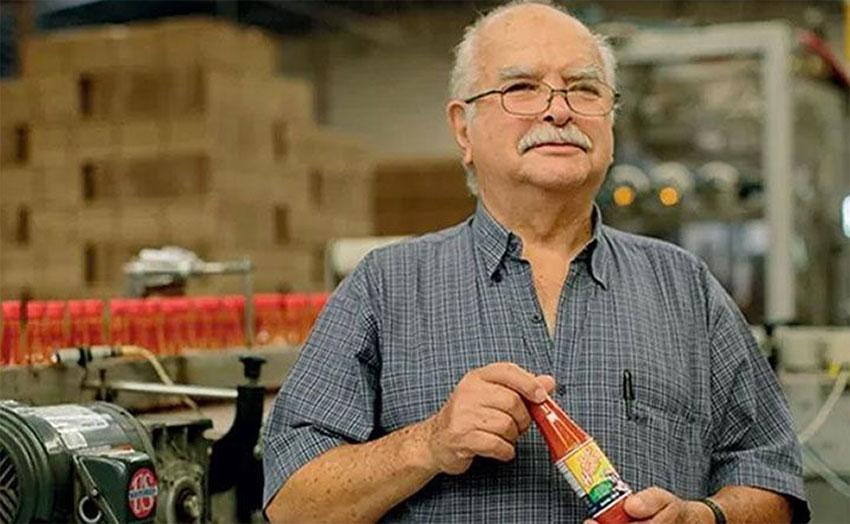 Nayarit salsa maker Don Roberto.