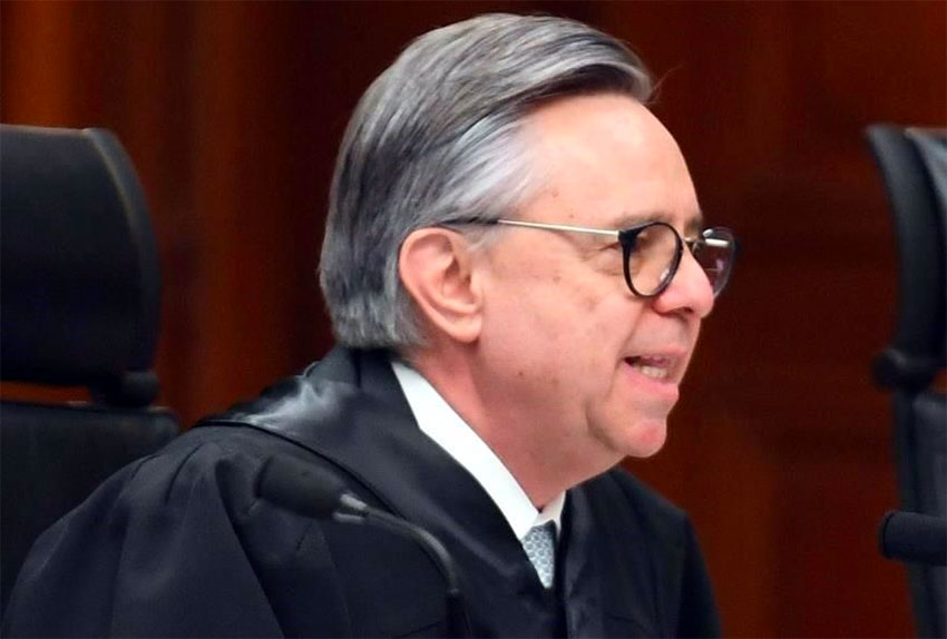 Justice Medina: surprise resignation.