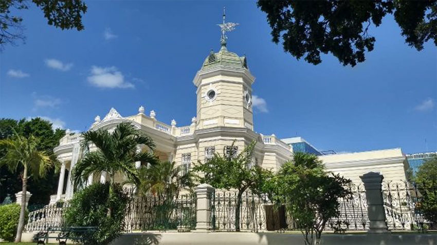 The colonial architecture was one of Mérida's highlights for magazine readers.