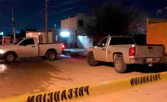 Scene of the Juárez shooting of a reporter.