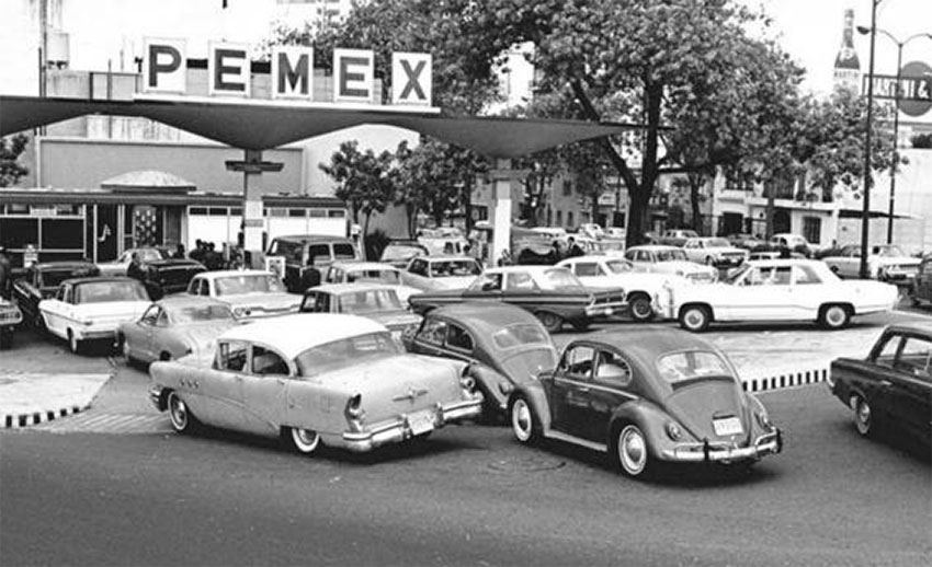 early pemex station