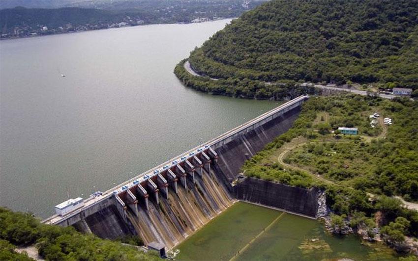 Las Peñitas dam in Chiapas