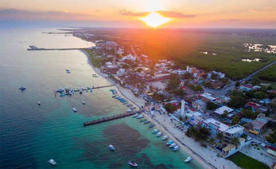 Puerto Morelos: may not be a cruise ship destination.
