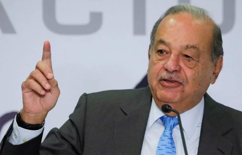 Carlos Slim will continue to invest in Mexico.