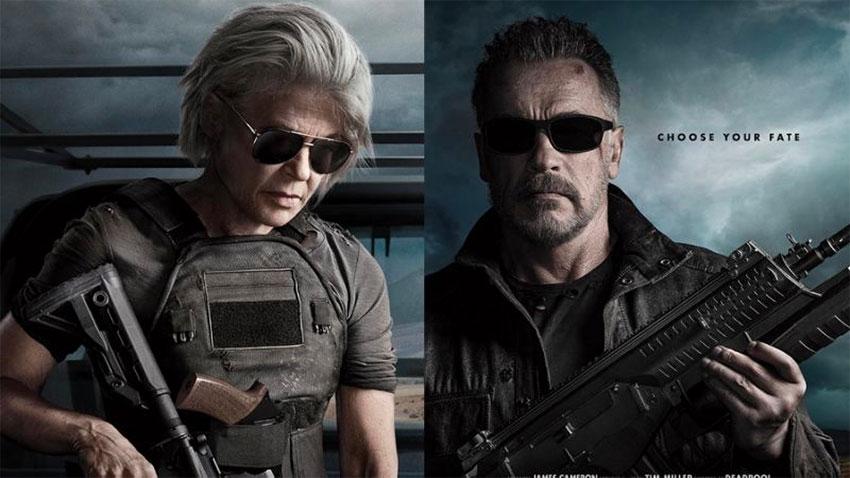 Linda Hamilton and Arnold Schwarzenegger traveled to Madrid instead of Mexico.