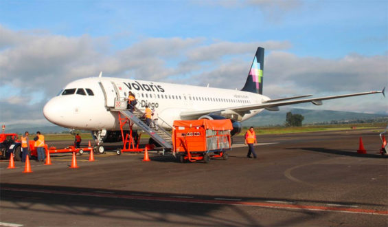 Volaris moves into first place.