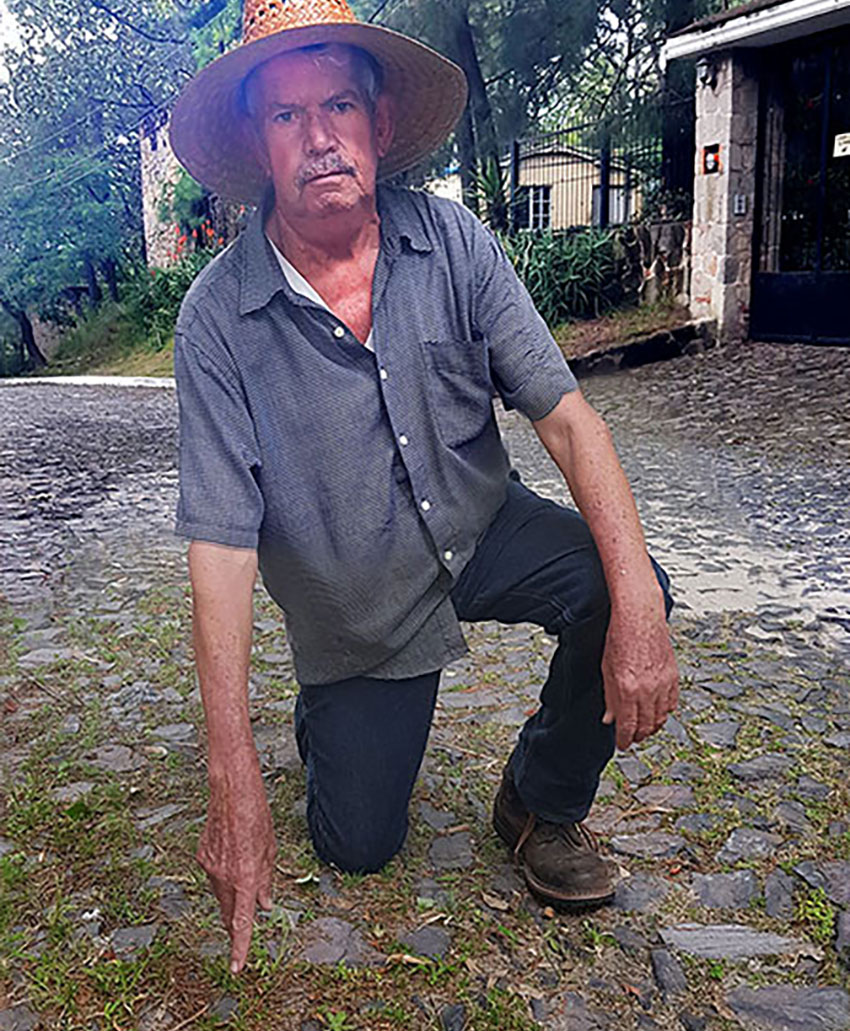 Don Pancho: there are two ways to repair a cobblestone road.