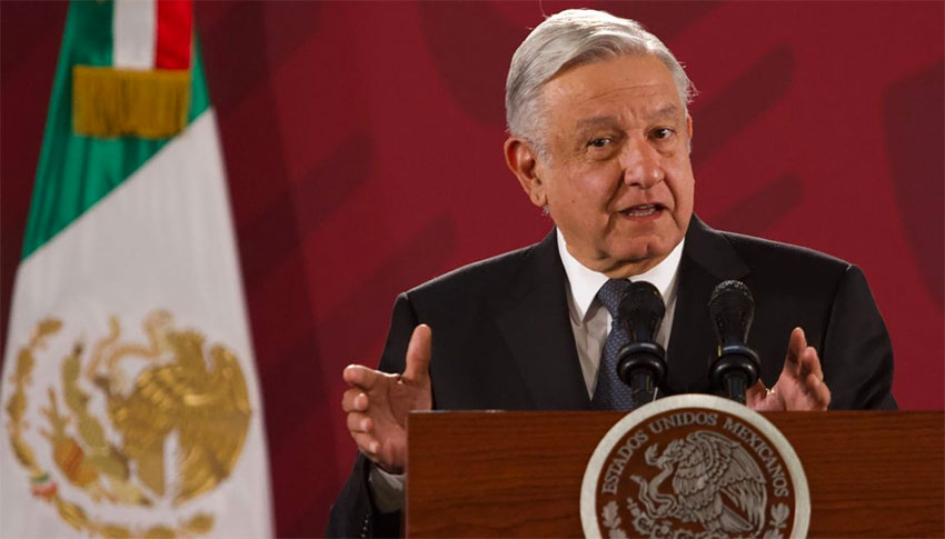 AMLO: opposed to ill-gotten riches.
