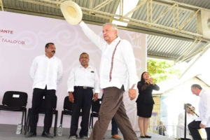 Train will cause no environmental damage, AMLO promised during a speech in Quintana Roo.