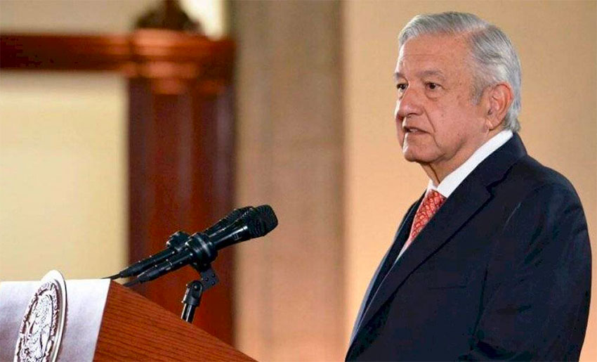 AMLO defended pension policy at Monday's press conference.