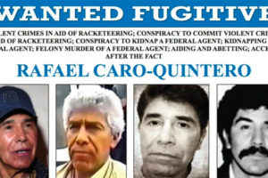 Caro Quintero has been a wanted man since he was released in 2013.