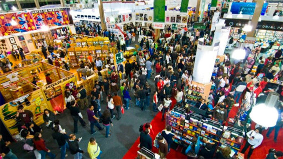 More than 800 authors will present their work at this year's book fair.