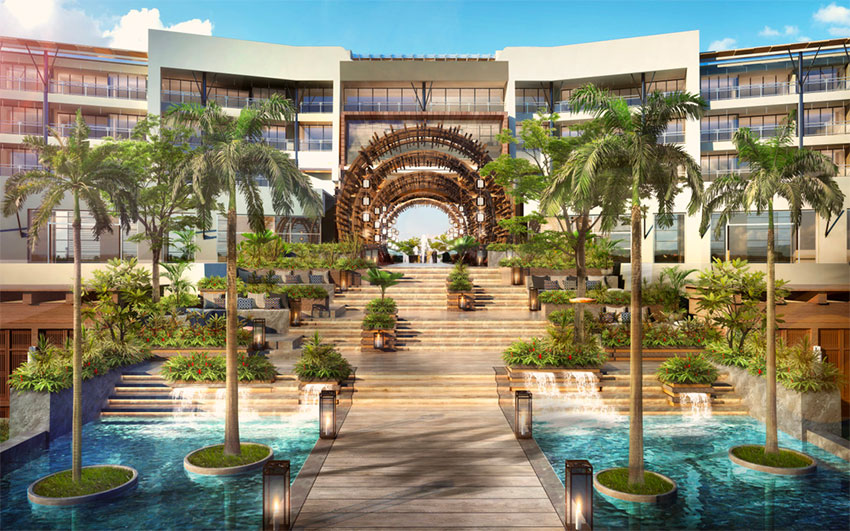 Many new hotels, such as this Grupo Vidanta property in Los Cabos, will be built under new infrastructure plan
