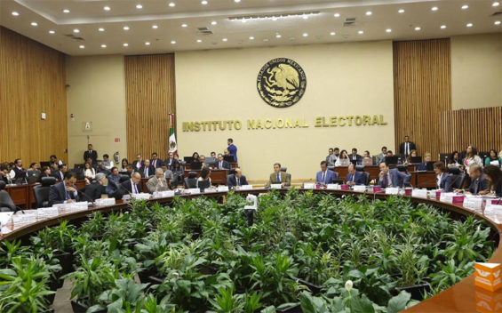 The electoral institute levied the biggest fine against the ruling Morena party.