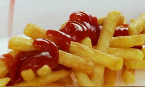 Have some sugar sauce with your fries.