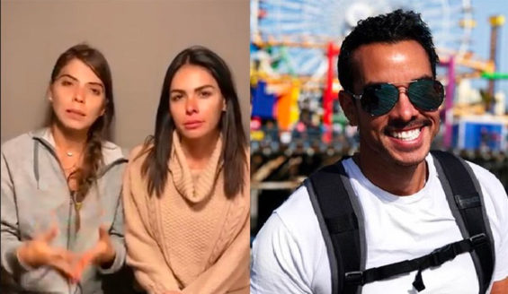 Actresses Vanessa Arias and Esmeralda Ugalde were traveling with Sandí on Sunday.