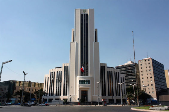 The National Lottery's headquarters in Mexico City.