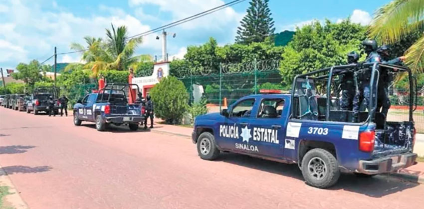 State police accused of extortion in Mazatlán.