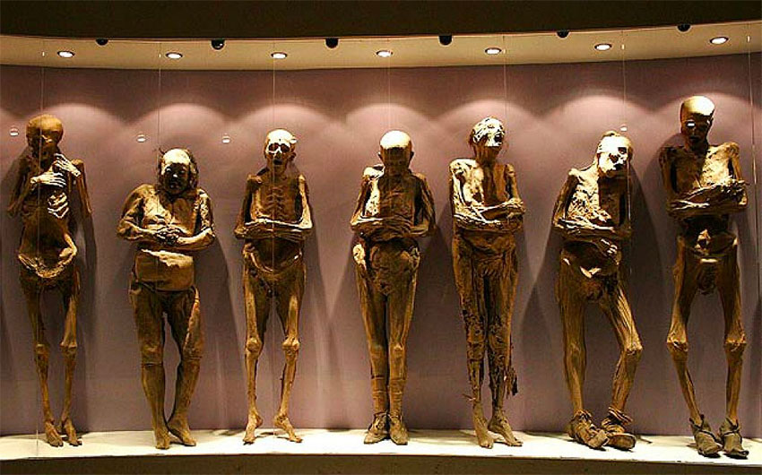 Some of Guanajuato's mummies are going on tour next year.