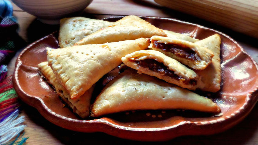 Piloncillo empanadas are best right out of the oven.