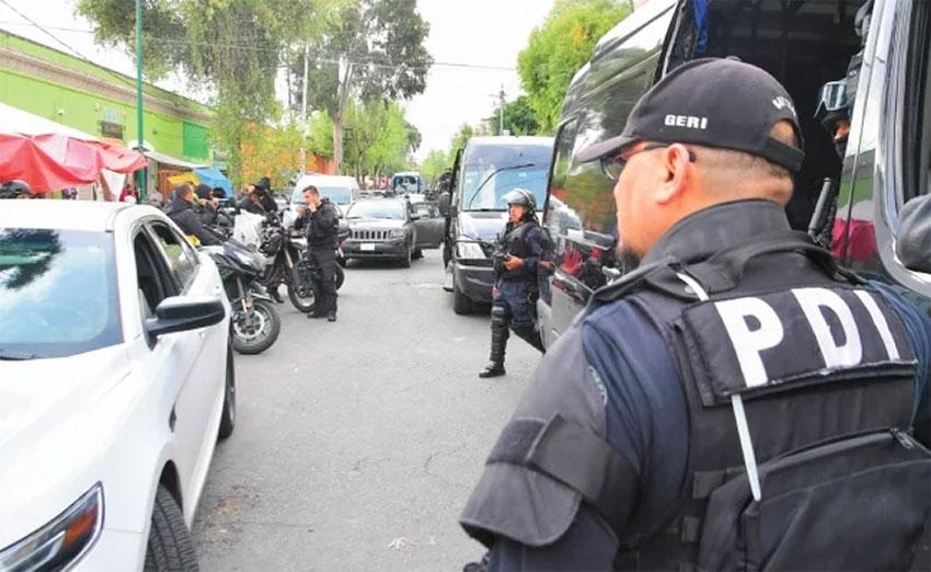 Investigative police are under scrutiny in Mexico City.