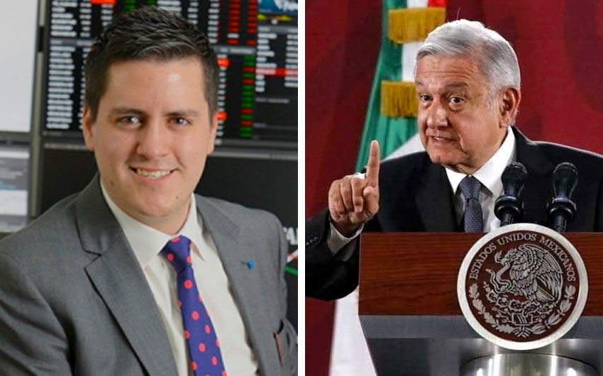 Minero, left: government doesn't understand business; AMLO: profits should be reasonable.