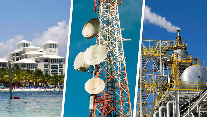 Tourism, telecommunications and energy sectors will benefit from infrastructure projects.