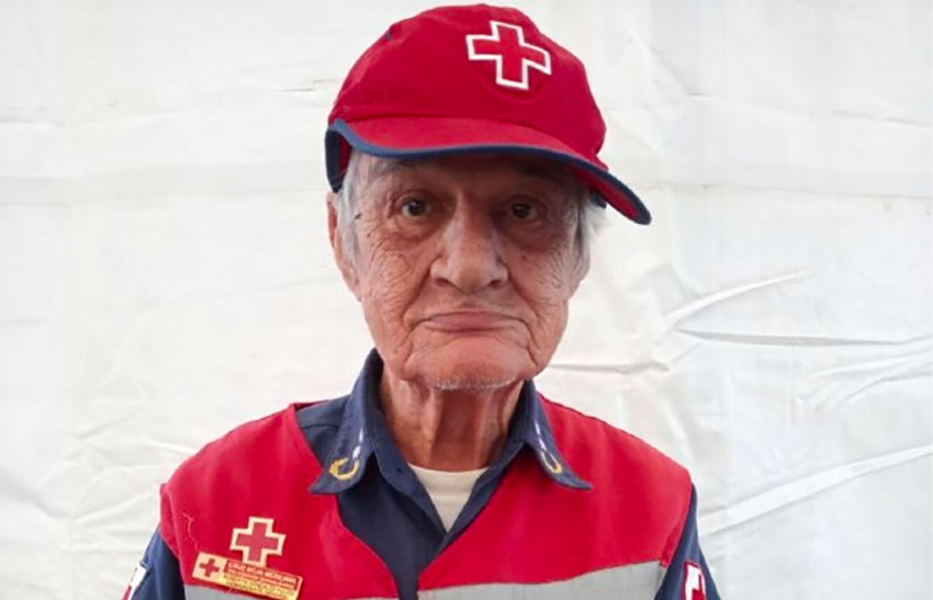 González: 'His life was the Red Cross.'