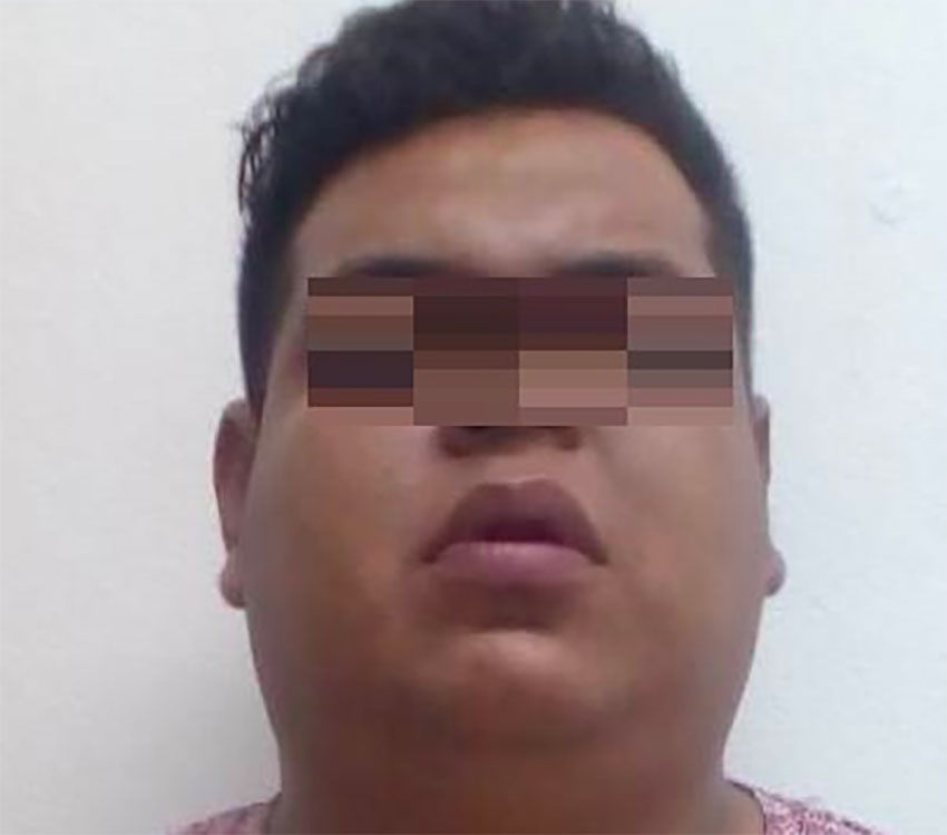 Suspect in the beating of a Canadian woman in Tulum.