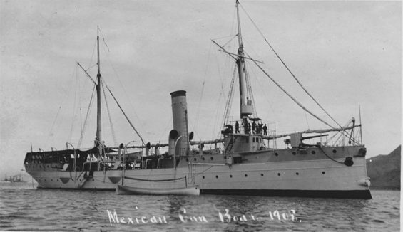 The gunboat Tampico.