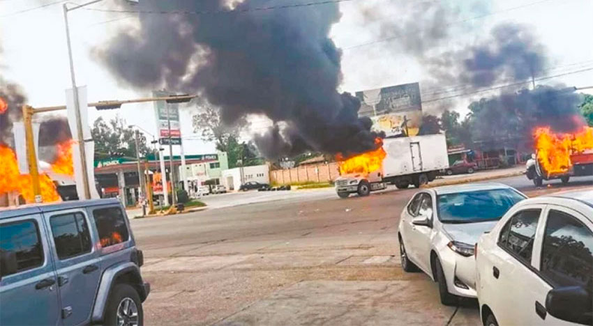 Cartel terror in Culiacán.