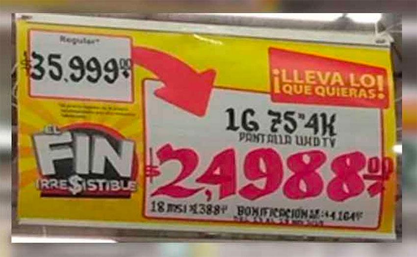 walmart television price