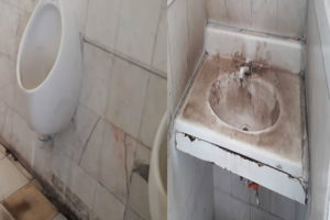 Dirtiest gas station washroom is in Zacatecas.