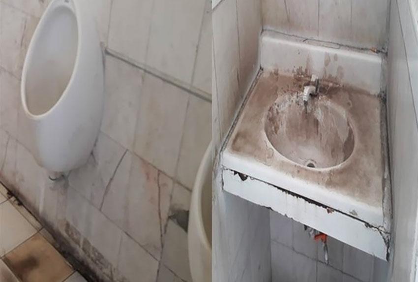 Dirtiest gas station washroom is in Zacatecas.