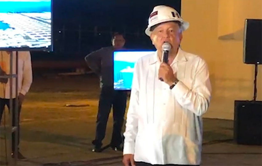 López Obrador thanked Trump during a visit Friday to Tabasco.