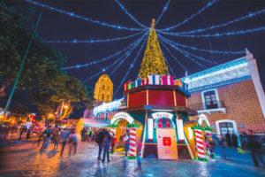 Atlixco, Puebla, a Christmas village.