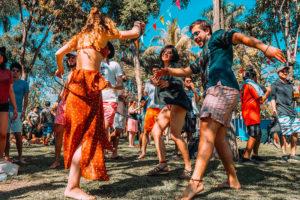 Dancing close to nature at Bahidorá.
