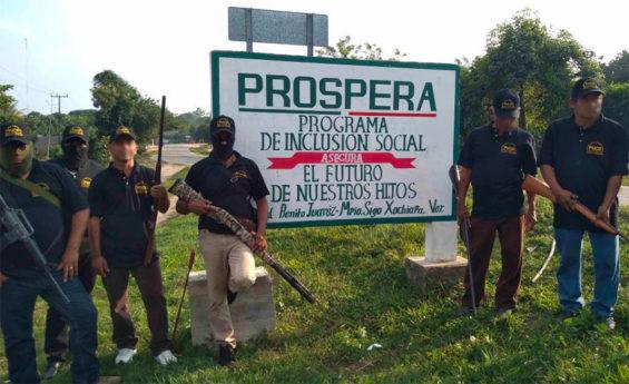 On the defensive in Veracruz.