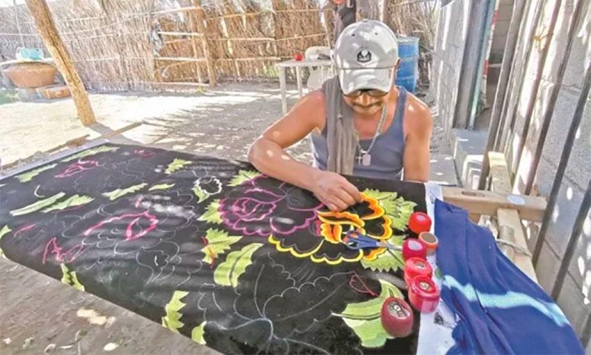 Gerardo Gallegos also works in construction.