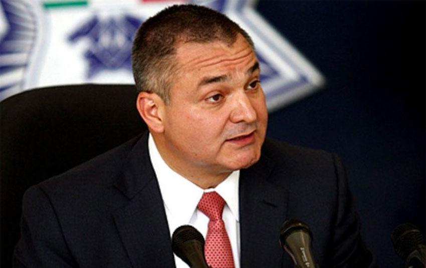 García during his tenure as Mexico's top security official.