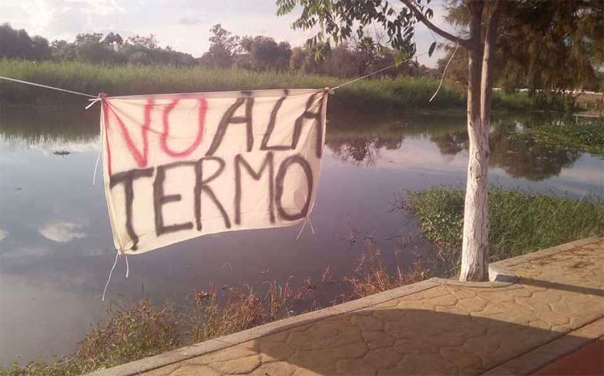 One answer to Jalisco plan: 'No to the thermal plant.'