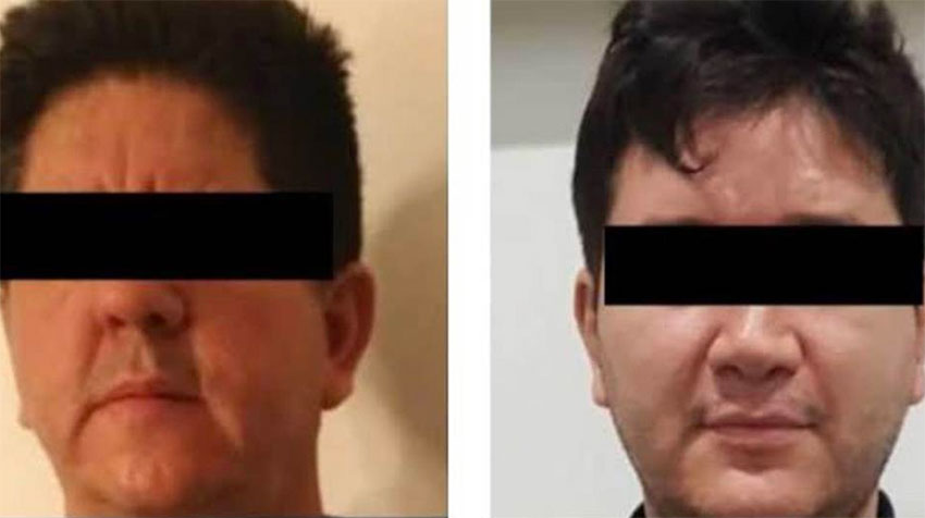 Drug lord's brothers-in-law Ulises and Arnulfo González.